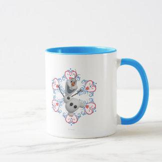 Olaf | Heart Frame Mug