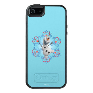 Olaf | Heart Frame OtterBox iPhone 5/5s/SE Case