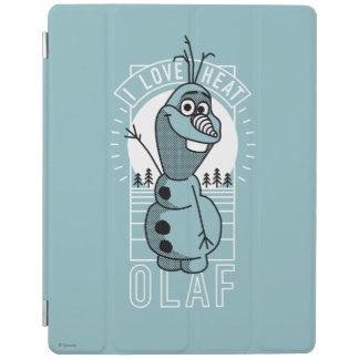 Olaf | I Love Heat iPad Cover