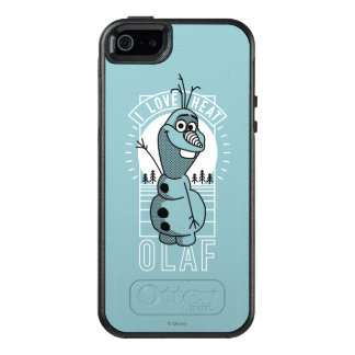 Olaf | I Love Heat OtterBox iPhone 5/5s/SE Case