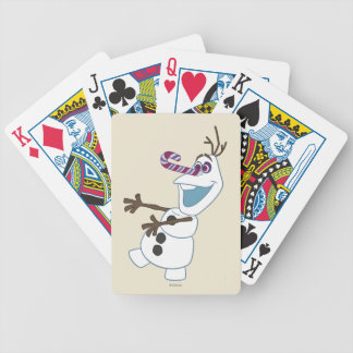 Olaf | I'm on a Mission Bicycle Playing Cards