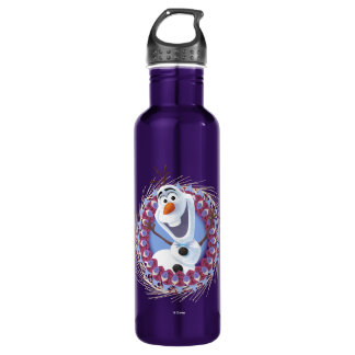 Olaf   Just Warming Up 710 Ml Water Bottle