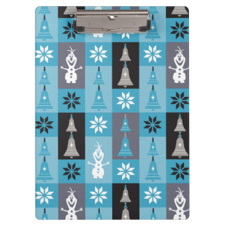 Olaf | Let the Holiday's Begin Pattern Clipboard