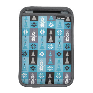 Olaf | Let the Holiday's Begin Pattern iPad Mini Sleeve