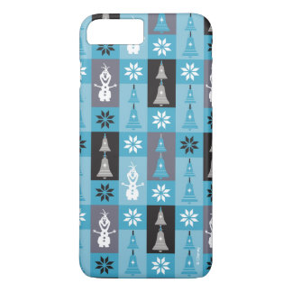 Olaf | Let the Holiday's Begin Pattern iPhone 8 Plus/7 Plus Case