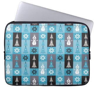 Olaf | Let the Holiday's Begin Pattern Laptop Sleeve