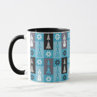 Olaf | Let the Holiday's Begin Pattern Mug