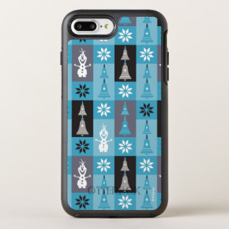 Olaf | Let the Holiday's Begin Pattern OtterBox Symmetry iPhone 8 Plus/7 Plus Case