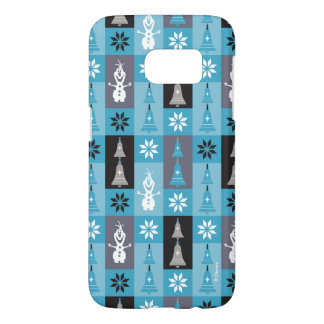 Olaf | Let the Holiday's Begin Pattern Samsung Galaxy S7 Case