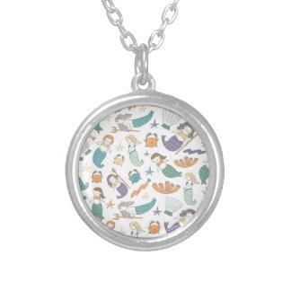 Olaf MacBeth Silver Plated Necklace