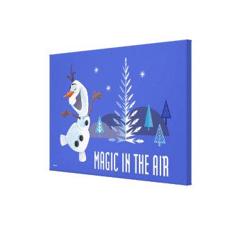 Olaf | Magic in the Air Canvas Print