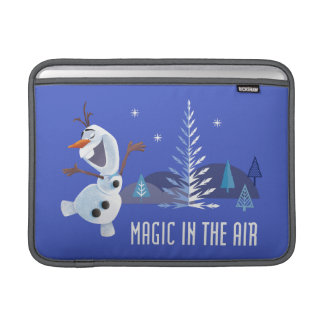 Olaf | Magic in the Air MacBook Sleeve