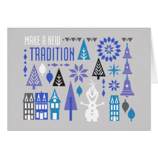 Olaf | Make a New Tradition Card