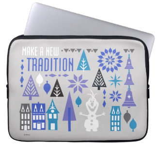 Olaf | Make a New Tradition Laptop Sleeve