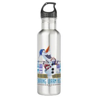 Olaf   Sharing Warm Hugs 710 Ml Water Bottle