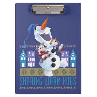 Olaf | Sharing Warm Hugs Clipboard