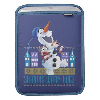 Olaf | Sharing Warm Hugs iPad Sleeve