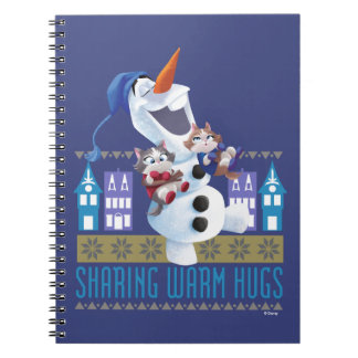 Olaf | Sharing Warm Hugs Notebooks