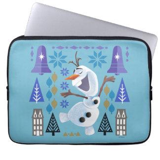 Olaf | Snow Magic Laptop Sleeve