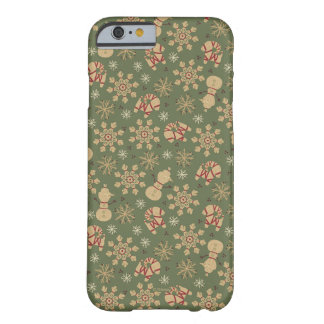 Olaf |  Snowflakes and Magic Pattern Barely There iPhone 6 Case