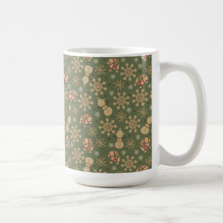Olaf |  Snowflakes and Magic Pattern Coffee Mug