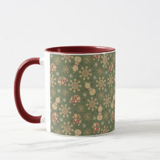 Olaf |  Snowflakes and Magic Pattern Mug