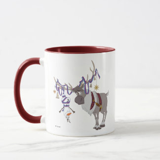 Olaf & Sven | Decked out in Holiday Style Mug