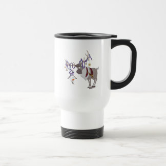 Olaf & Sven | Decked out in Holiday Style Travel Mug