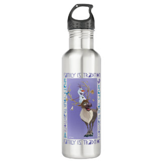 Olaf & Sven   Family is Tradition 710 Ml Water Bottle