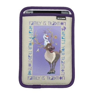 Olaf & Sven | Family is Tradition iPad Mini Sleeve
