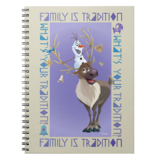 Olaf & Sven | Family is Tradition Notebook