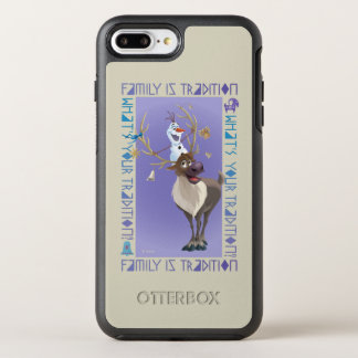 Olaf & Sven   Family is Tradition OtterBox Symmetry iPhone 8 Plus/7 Plus Case