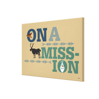 Olaf & Sven | On a Mission Canvas Print