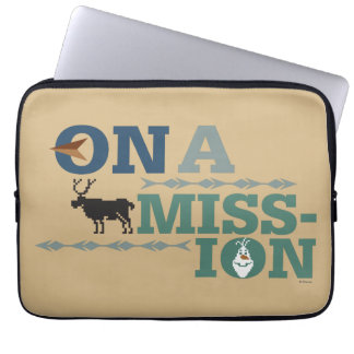 Olaf & Sven | On a Mission Laptop Sleeve