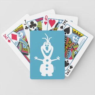 Olaf | Warm Hug For You, Warm Hug For Me Bicycle Playing Cards