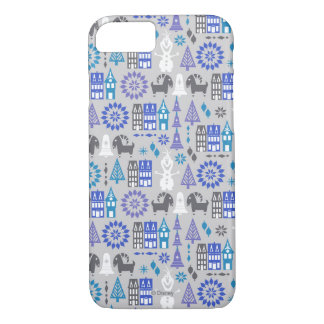 Olaf | Warm Hugs All Around Pattern Case-Mate iPhone Case