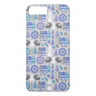 Olaf | Warm Hugs All Around Pattern iPhone 8 Plus/7 Plus Case