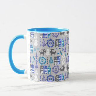 Olaf | Warm Hugs All Around Pattern Mug