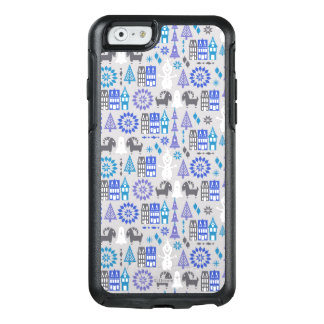 Olaf | Warm Hugs All Around Pattern OtterBox iPhone 6/6s Case