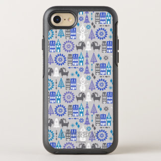 Olaf | Warm Hugs All Around Pattern OtterBox Symmetry iPhone 8/7 Case