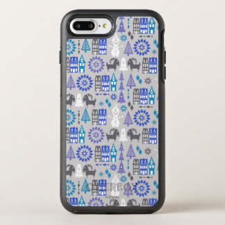 Olaf | Warm Hugs All Around Pattern OtterBox Symmetry iPhone 8 Plus/7 Plus Case