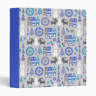 Olaf | Warm Hugs All Around Pattern Vinyl Binders
