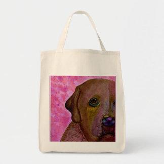 Olaf watercolor dog bag