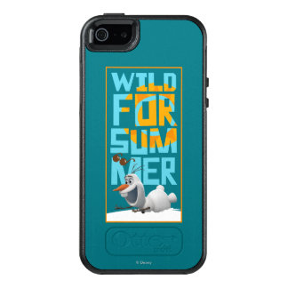 Olaf | Wild for Summer with Orange Circle OtterBox iPhone 5/5s/SE Case