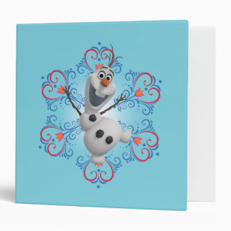 Olaf with Heart Frame Binders