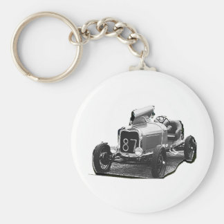 OLD 87 RACING CAR KEYCHAIN