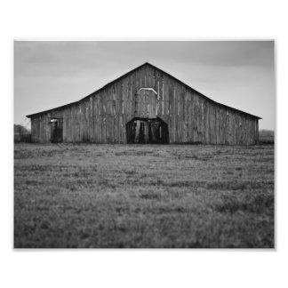 Old Abandoned Barn Photo Print