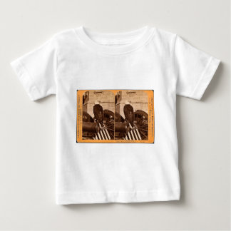 Old Abe, The Wisconsin War Eagle- Stereoview Tee Shirts