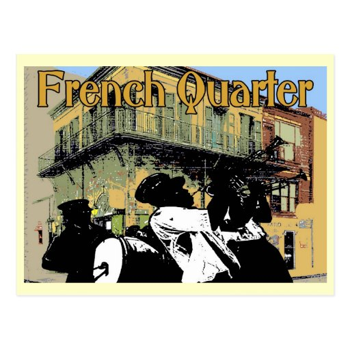 Old Absinthe House Brass Band, French Quarter, New Postcard
