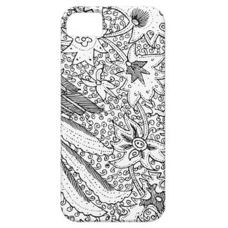 Old Abstract Textile Nature Pattern Case For The iPhone 5